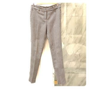 Houndstooth pattern pant